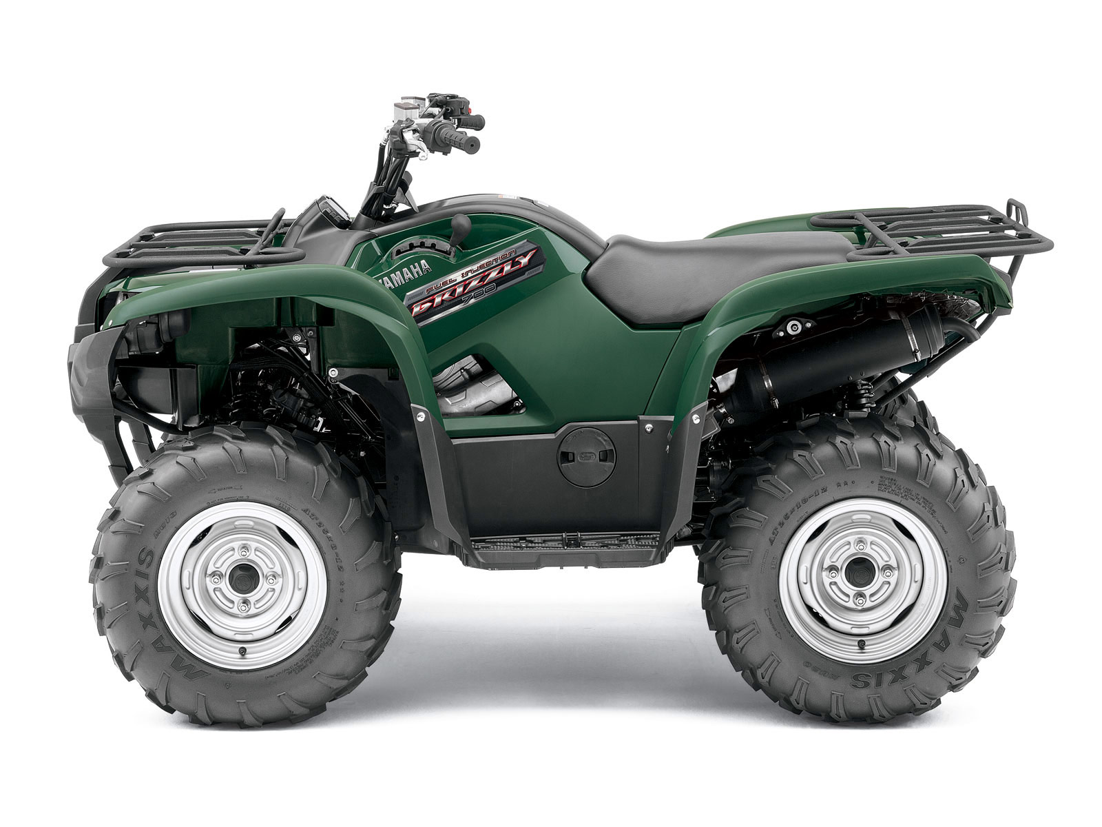 2012 yamaha grizzly 700 fi auto 4x4 atv pictures review. Black Bedroom Furniture Sets. Home Design Ideas