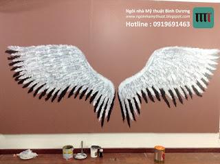 vẽ tranh tường 3D rẻ đẹp tại Bạc Liêu