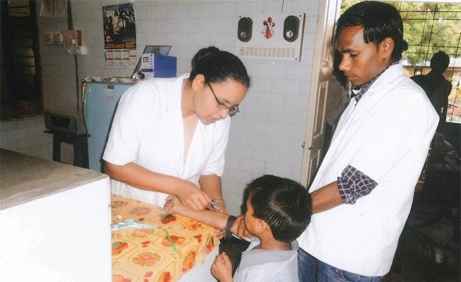 Ayudas de Infancia Misionera en la India