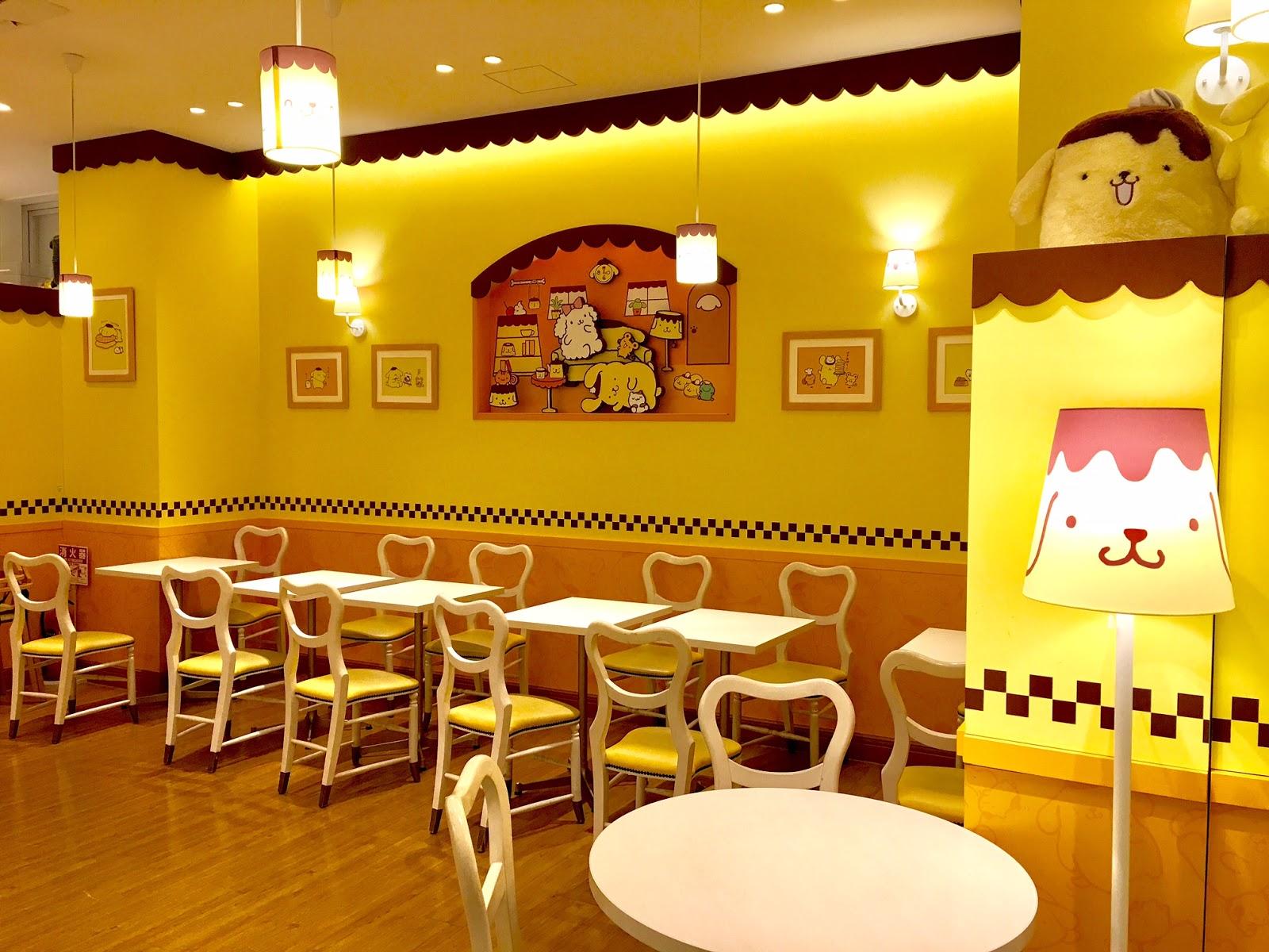 Pompompurin Cafe Interior