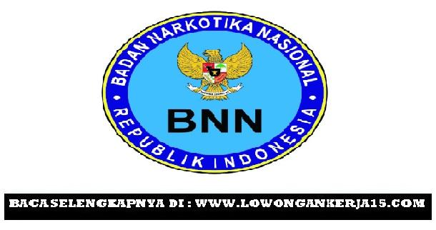 Lowongan kerja BNN