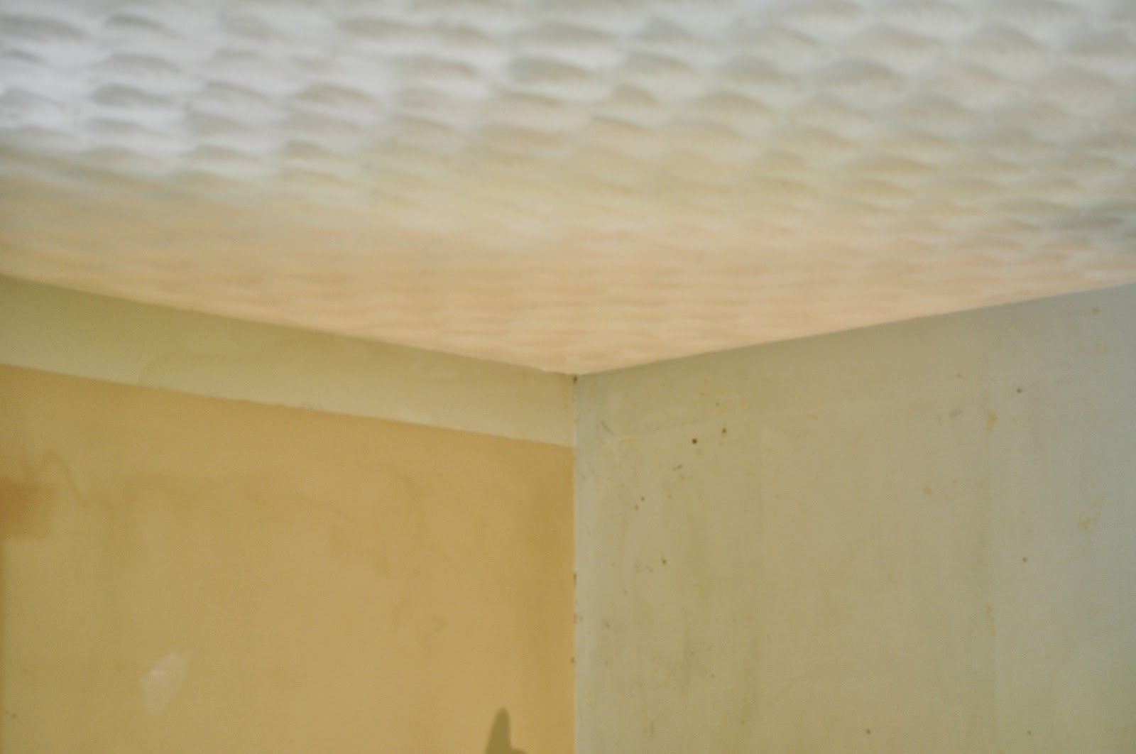 Removing Plaster Texture From Ceilings