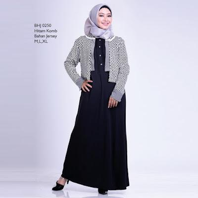 Baju Gamis Wanita Gareu BHJ 0250