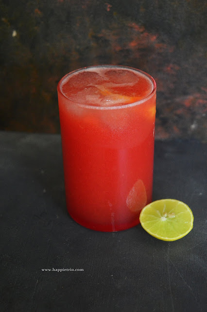 Watermelon Rose Sharbath Recipe | Watermelon Rose Drink