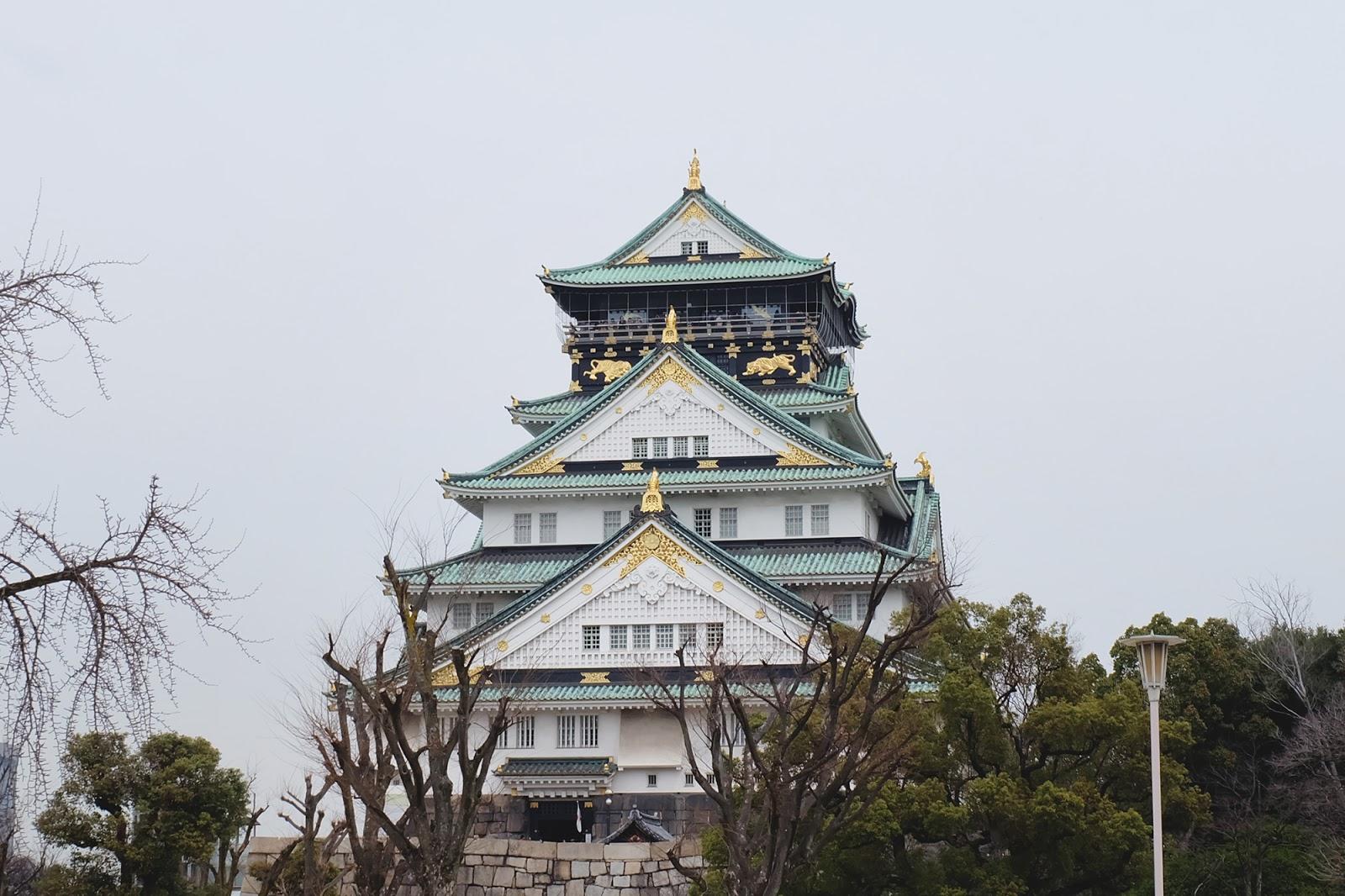 Osaka Castle | www.bigdreamerblog.com