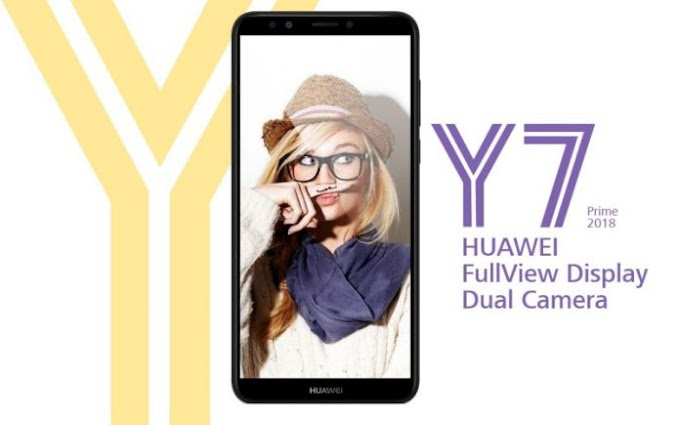 Huawei Y7 Prime 2018 launched with Huawei P20 Pro