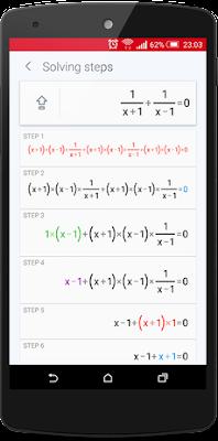 تطبيق PhotoMath لحل المسائل الرياضية كامل للأندرويد