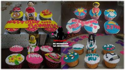 Cupcake sebagai Ide alternatif pengganti kue tart ulang tahun