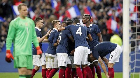 """Pháp có chiến thắng """"mát mặt"""" trước đương kim vô địch World Cup 2014"""