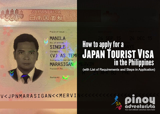 NEW UPDATED 2020 JAPAN VISA REQUIREMENTS and Application for Tourists in the PHILIPPINES for FILIPINOS