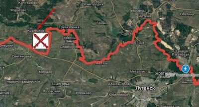 В бою под Крымским погибли 5 украинских военных