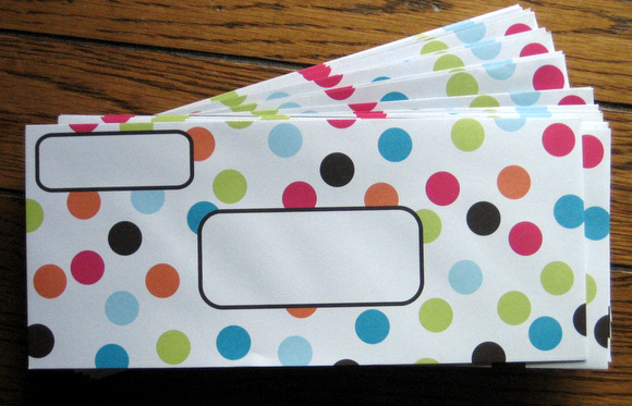 Fun, creative envelopes for our secret non-traditional bachelorette party