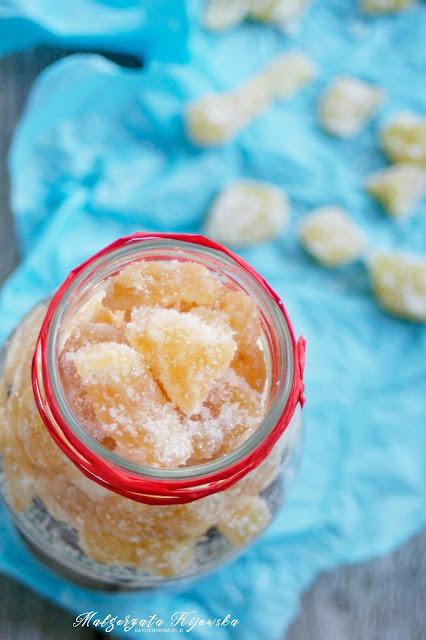 kandyzowane owoce, domowe słodycze, jak obrać ananasa, daylicooking