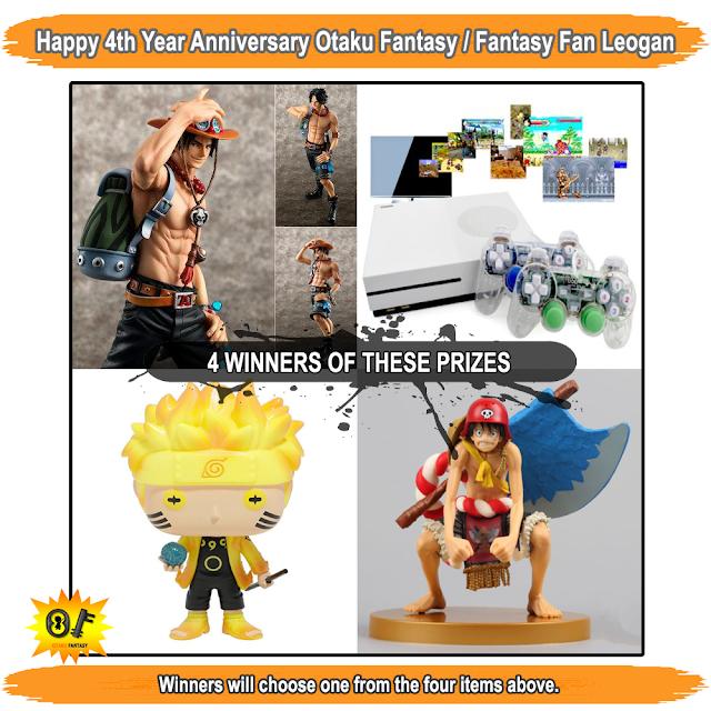Otaku Fantasy, Fantasy Fan Leogan, Fantasy Fan, Otaku, contest, 4th year anniversary, Facebook event