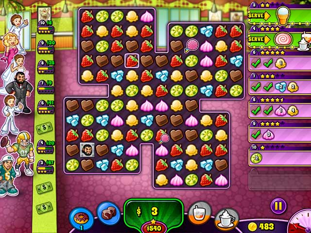 Sweet Shop Rush Game Setup