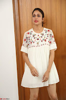 Lavanya Tripathi in Summer Style Spicy Short White Dress at her Interview  Exclusive 296.JPG
