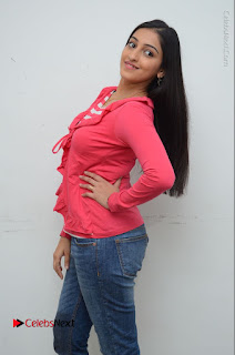 Telugu Actress Mouryani Latest Pos in Blue Denim Jeans  0025.JPG