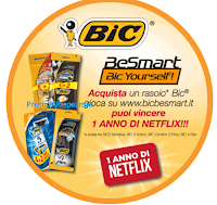 Logo Gioca e vinci 100 Gift Card Netflix da 50€ ( ogni premio composto da 2 Card)