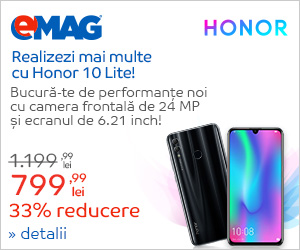 Honor 10 Lite -33% reducere