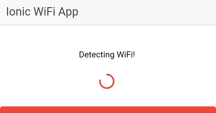 Wifi Scanner with wifiwizard - ionic-v3 - Ionic Forum