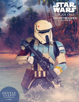 Star Wars Rogue One Shoretrooper Mini Bust by Gentle Giant