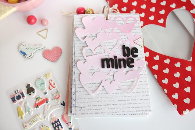 San Valentino 2017 | scrapbooking mini album dettagli13 www.kkushi.com