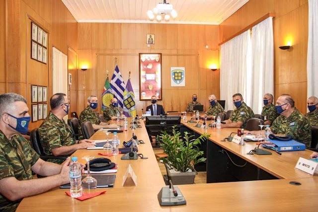 Θεσσαλονίκη: Ο Στεφανής στα Στρατηγεία του Γ΄ΣΣ και NRDC-GR (7 ΦΩΤΟ)