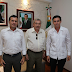 Critican 'apretón de manos' entre Aguakán y Remberto Estrada