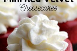 Delicious Mini Red Velvet Cheesecakes