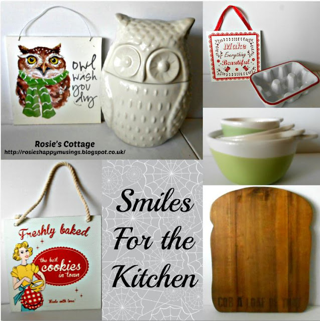 Smiles in the kitchen & pretty accessories