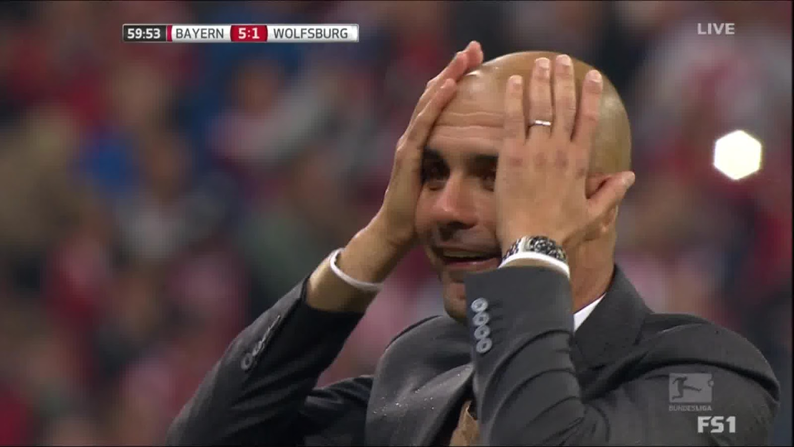 Lewandowski 5 Tore