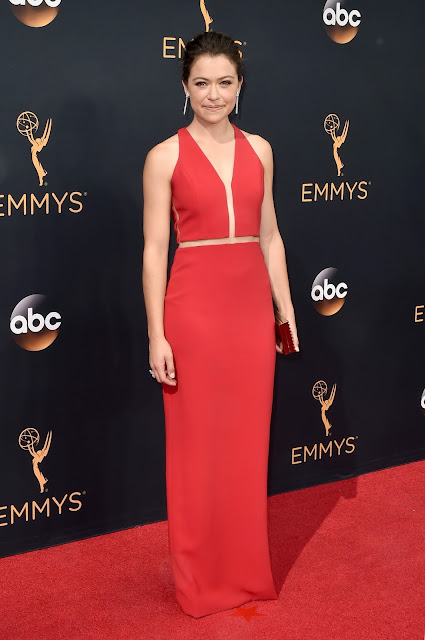 Tatiana Maslany in Forevermark Diamonds at the 68th Annual Emmy Awards