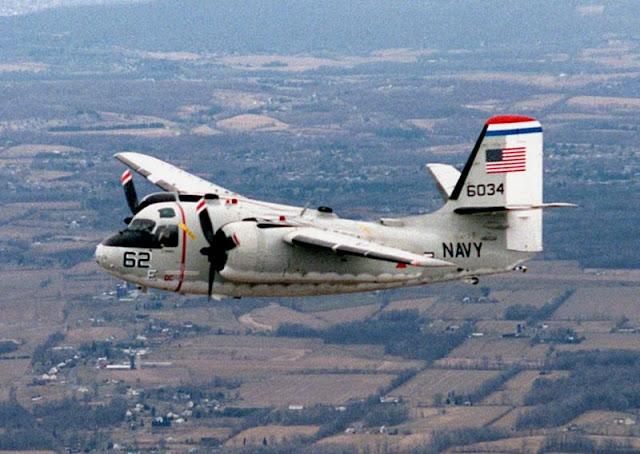 Gambar 27. Foto Pesawat Angkut Militer Grumman C-1 Trader