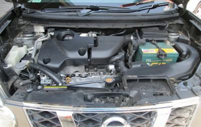 Foto Mesin Nissan X-Trail T31 Gen2 2.5 liter