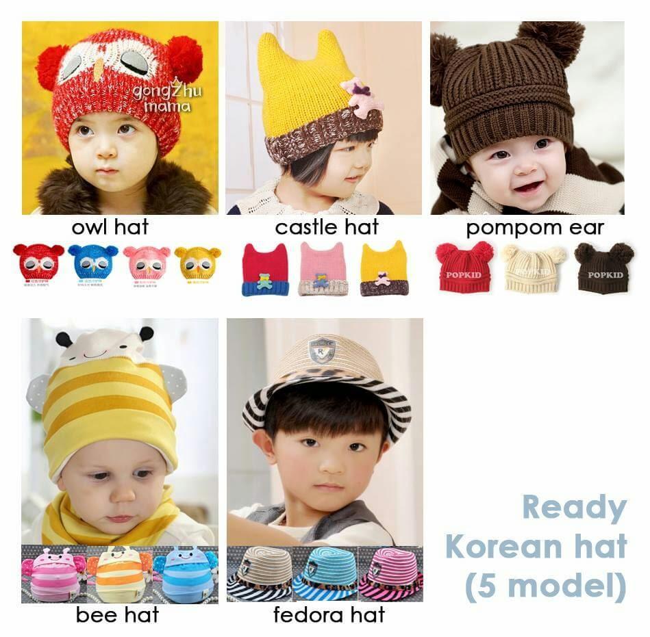 Grosir Topi Bayi dan Anak