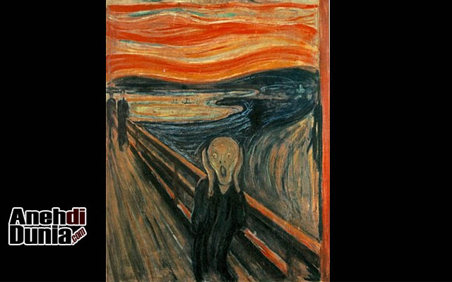 Lukisan The Scream