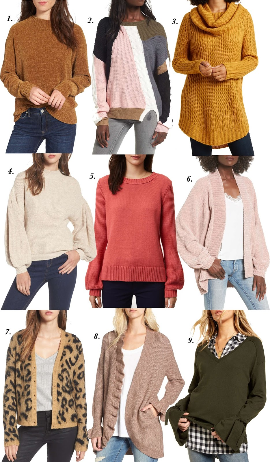 Nine Sweaters Under $100 - Something Delightful Blog