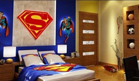 contoh kamar tidur anak laki