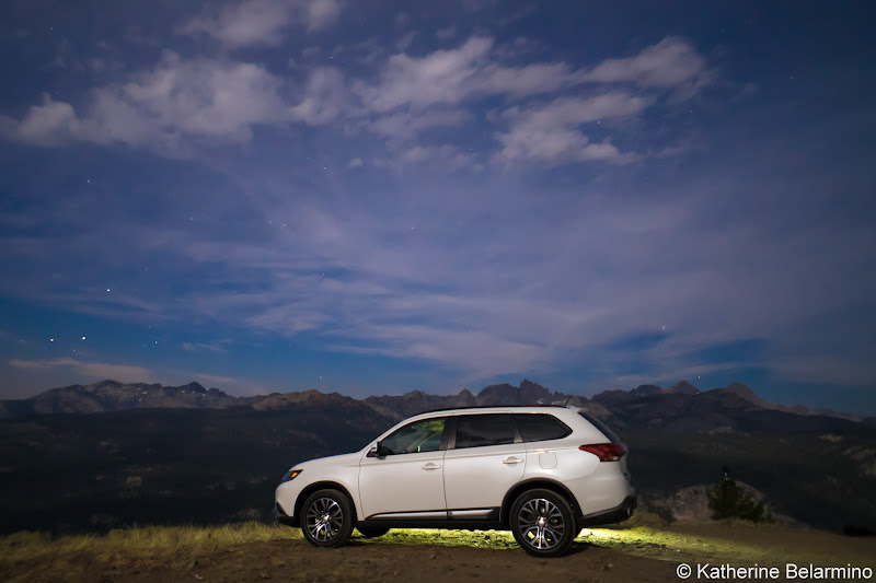 2016 Mitsubishi Outlander SEL S-AWC Minaret View Things to Do in Mammoth in Summer