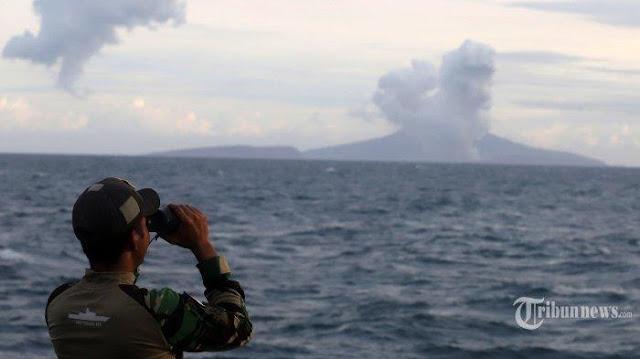 TNI AL Temukan Hal Mengejutkan di Dasar Laut Selat Sunda Pasca-Tsunami Banten