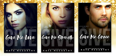 Cover Re-Reveal & Sales Blitz: Give Me Series by Kate McCarthy
