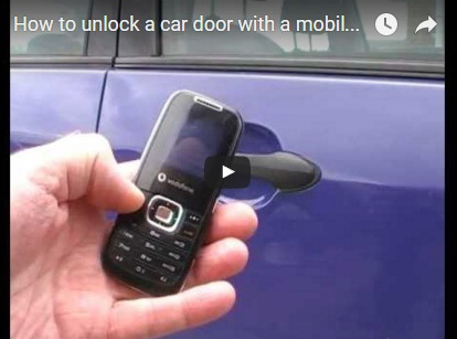 http://funkidos.com/videos-collection/how-to-unlock-a-car-door-with-a-mobile-phone