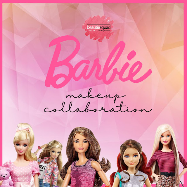 BARBIE MAKEUP COLLABORATION WITH BEAUITESQUAD
