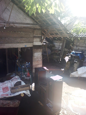Banjir Terjang Rumah Warga di Dusun Campang Kanan Pekon Kedaloman Tanggamus