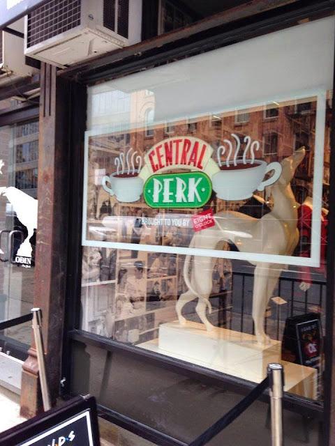 Ouverture du Central Perk à New York