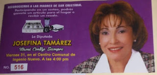Diputada Josefina Tamarez realizará dos actos a las madres en los sectores Ingenio Nuevo y Sainagua