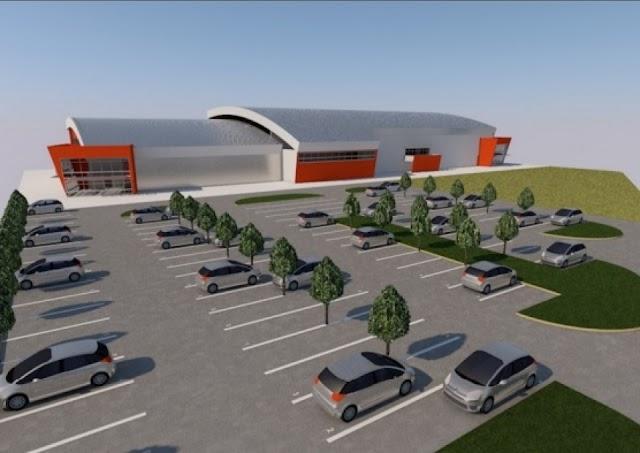 SC Boris Trajkovski baut neue Tennis und Kampfsporthalle