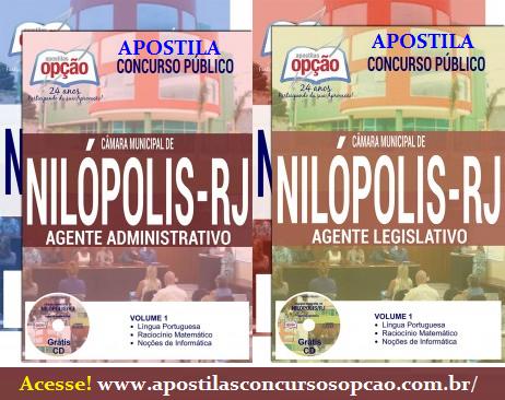 Apostila Câmara de Nilópolis (RJ) Agente Técnico Legislativo