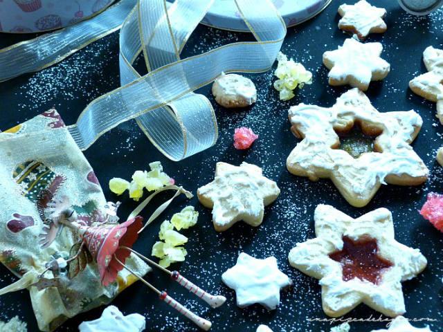 galletas jengibre con ventanitas de caramelo