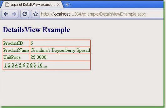 Updating in detailsview in asp net